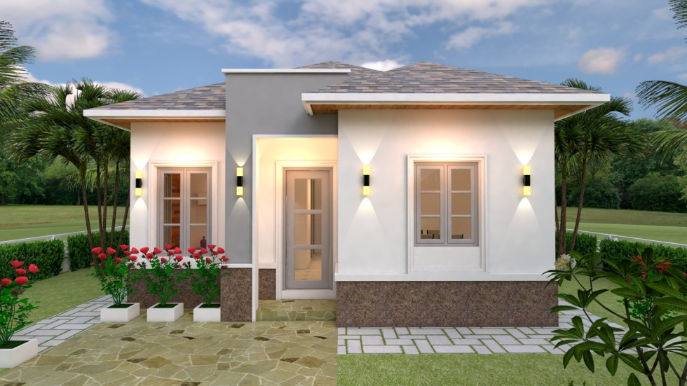 House Plans 7x10 with 3 Bedrooms