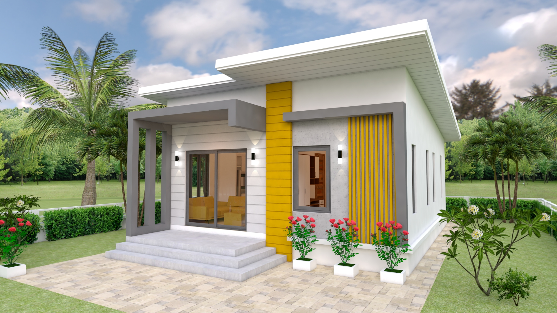House Design Plans 7x12 with 2 Bedrooms Full Plans ...