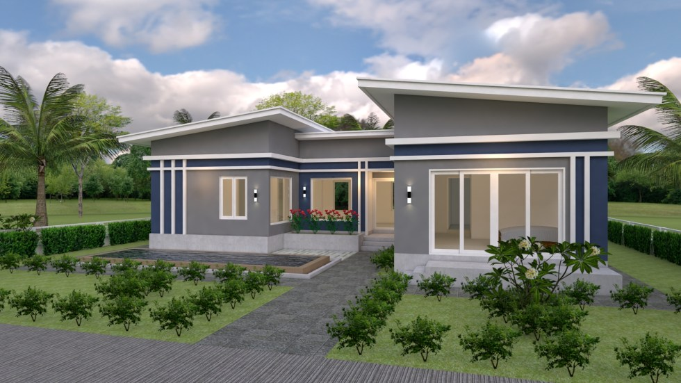 House Plans idea 17x13 with 3 Bedrooms 1