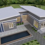 House Plans idea 17x13 with 3 Bedrooms 4