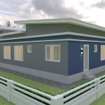 House Plans idea 17x13 with 3 Bedrooms 5