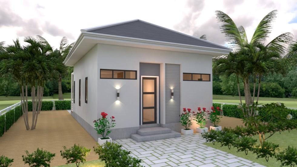 Studio House Plans 6x8 Hip Roof