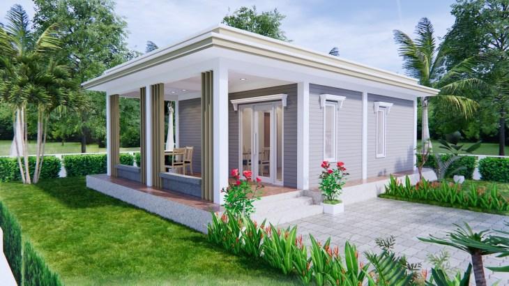 Best Small House Designs 9x6 Meter 30x20 Feet 2 Beds 1