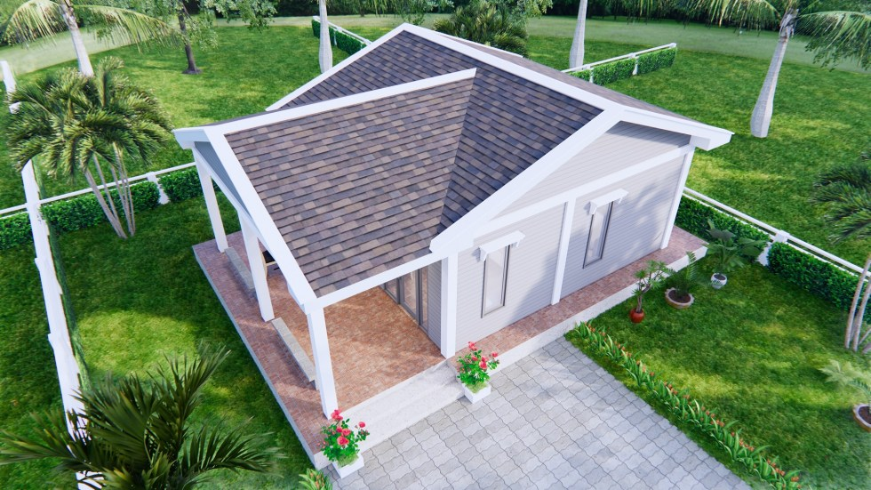 Small Cottage Designs 9x6 Meter 30x20 Feet 2 Beds 5