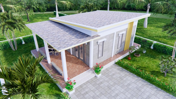 Small Home Floor Plans 9x6 Meter 30x20 Feet 2 Beds 4