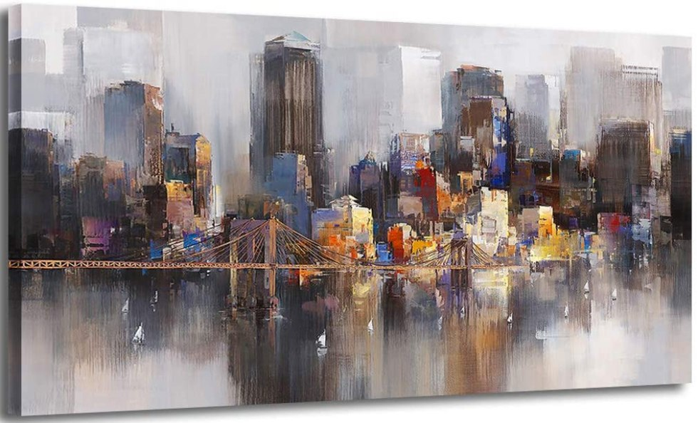 20 Best Abstract Wall Art Painting for Living Room