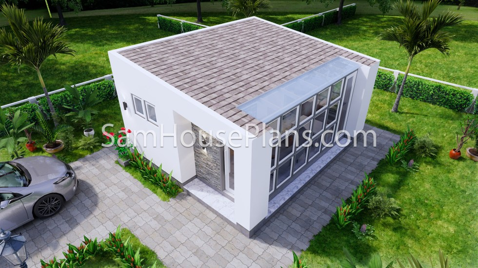 Tiny House Plans 5x6 Build From Steel Frame 1