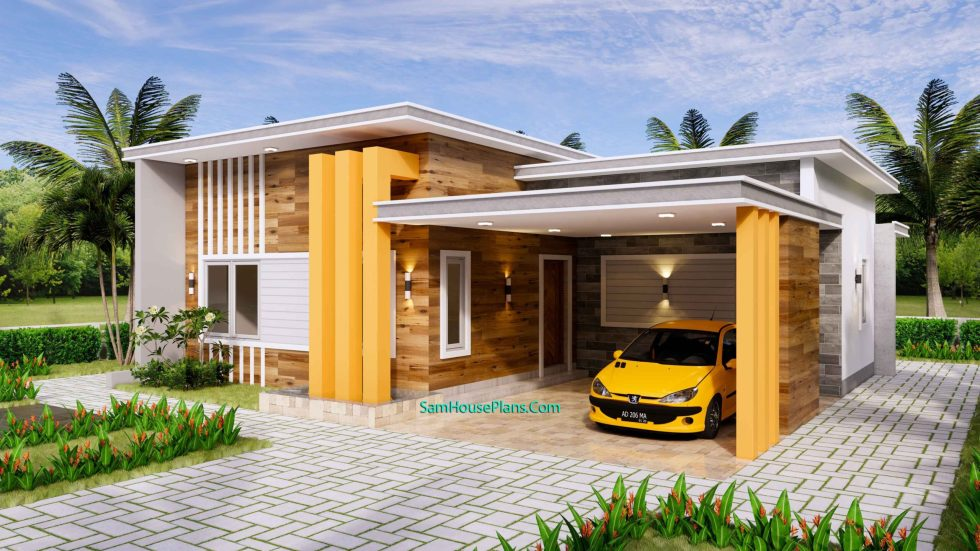 12x11 House Plans 3 Bedrooms 40x36 Feet Terrace Roof 1