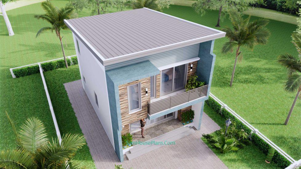 20x28 House Design Plan 6x8.5m PDF Full Plans 7
