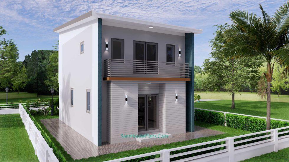20x28 House Design Plan 6x8.5m PDF Full Plans 8
