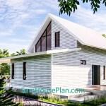 House Design Plan 14x9 Meter 46x30 Feet 3 Bedrooms Full PDF Plan 3d 7