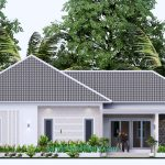 House Design Plan 15x9 M with 3 Beds PDF Full Plan 3d Elevation front