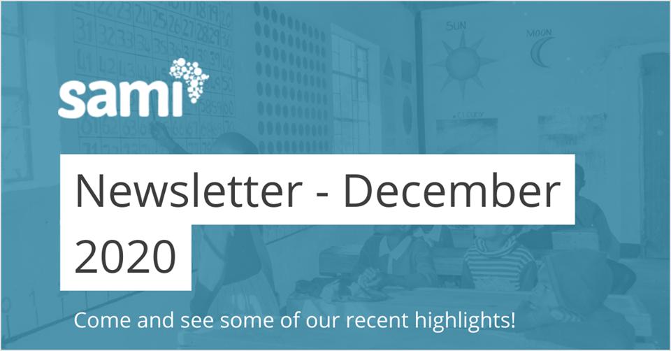 SAMI Newsletter – Highlights from 2020