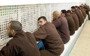Palestinian-prisoners-in-the-Israeli-Ayalon-prison