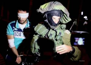 Israeli-army-arrest-palestinian-over-missing-settlers-july-2014