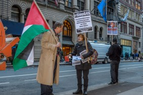 Protest to free hunger strikers and all Palestinian prisoners