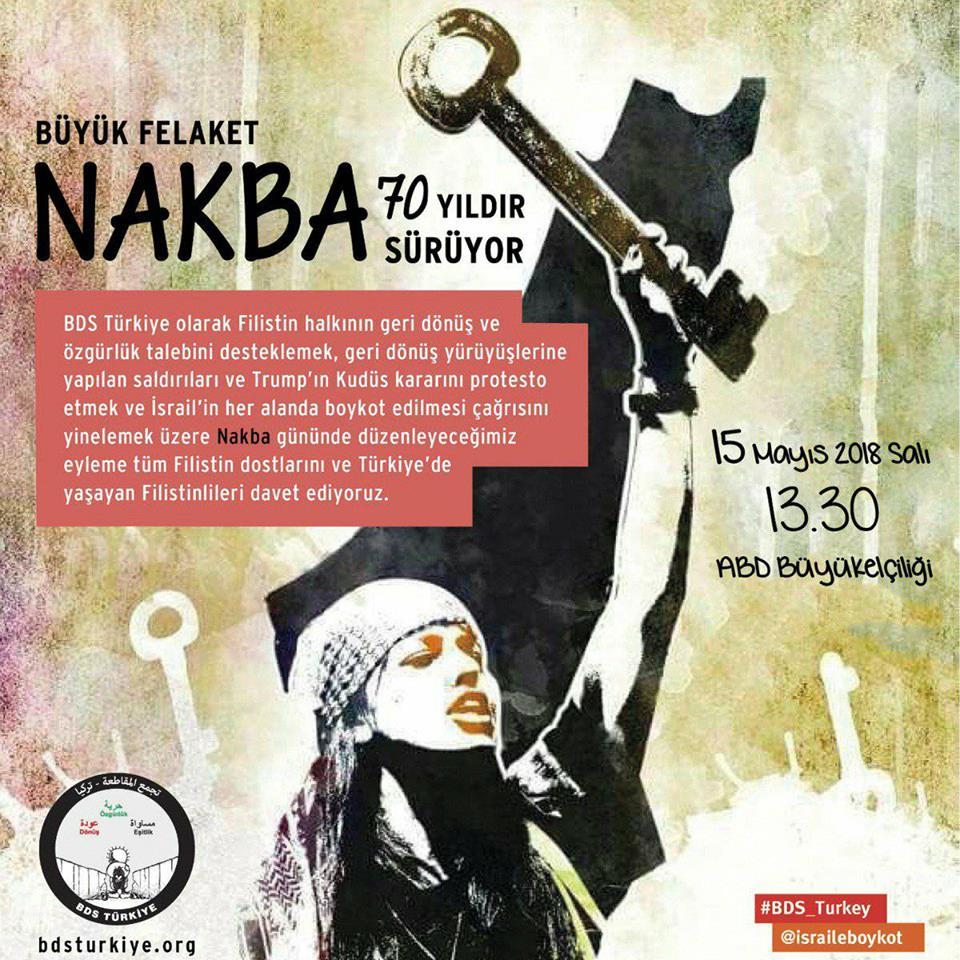 Ankara: 70 Years of Nakba