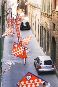SamiM Adventures study abroad in Siena, Italy Palio Contrade Parade