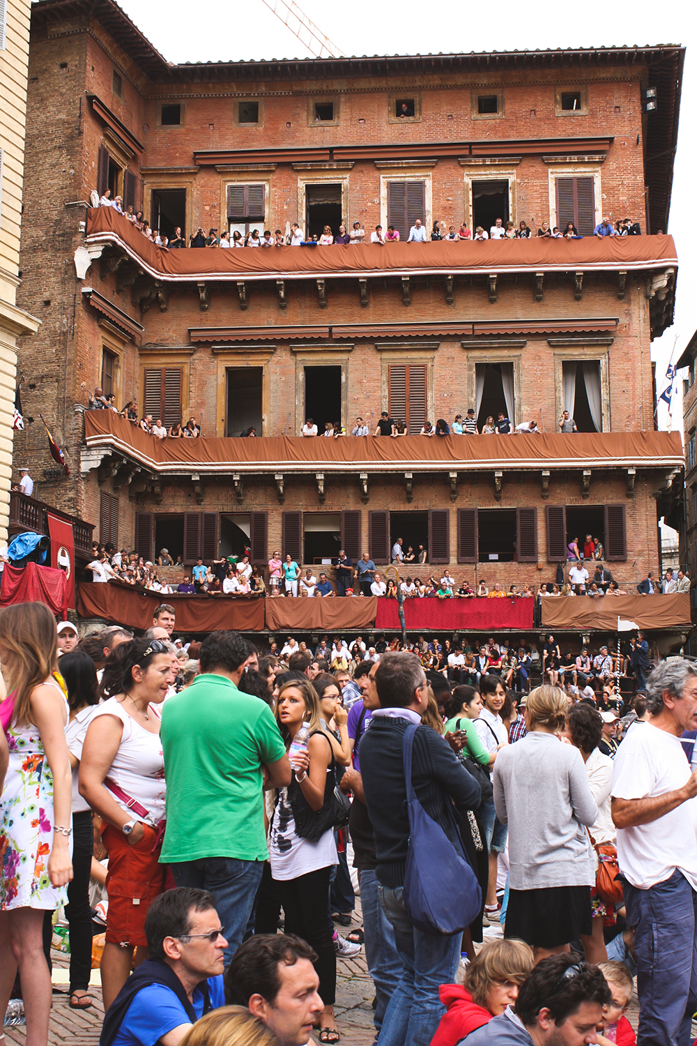 SamiM Adventures Palio horse race in Siena, Italy