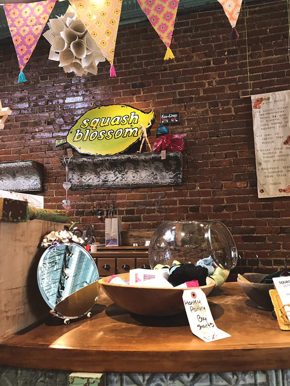 SamiM Adventures Decatur, where it's greater! Squash Blossom boutique