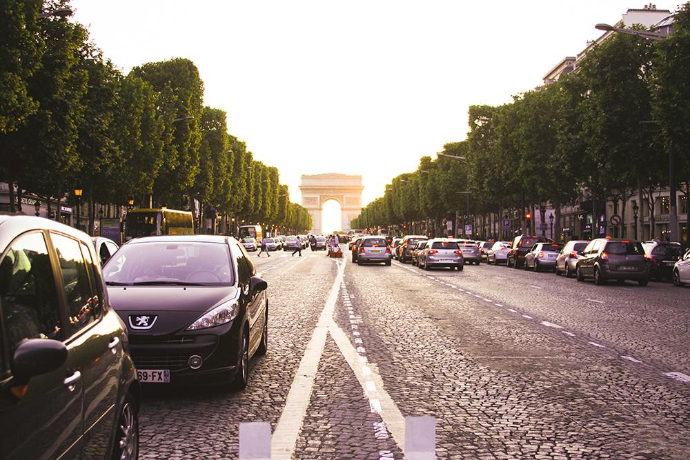 samim adventures Paris France arc de triomphe