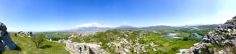 Visiting Rozafa Castle Ruin in Albania