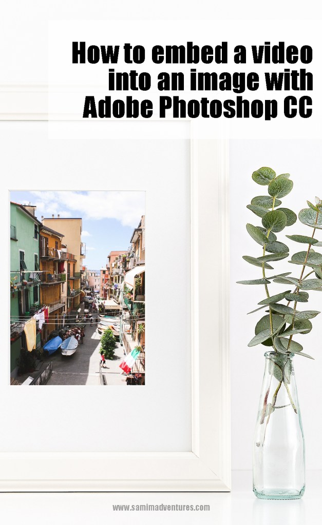 How to embed a video into an image with Photoshop CC