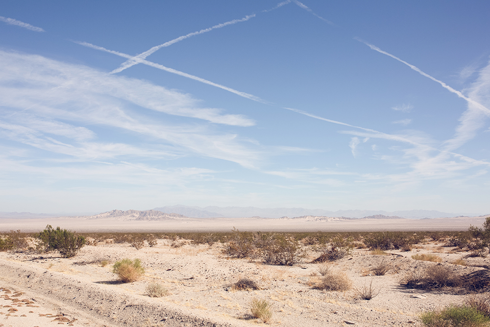 My long trek through Mojave Desert Preserve, California