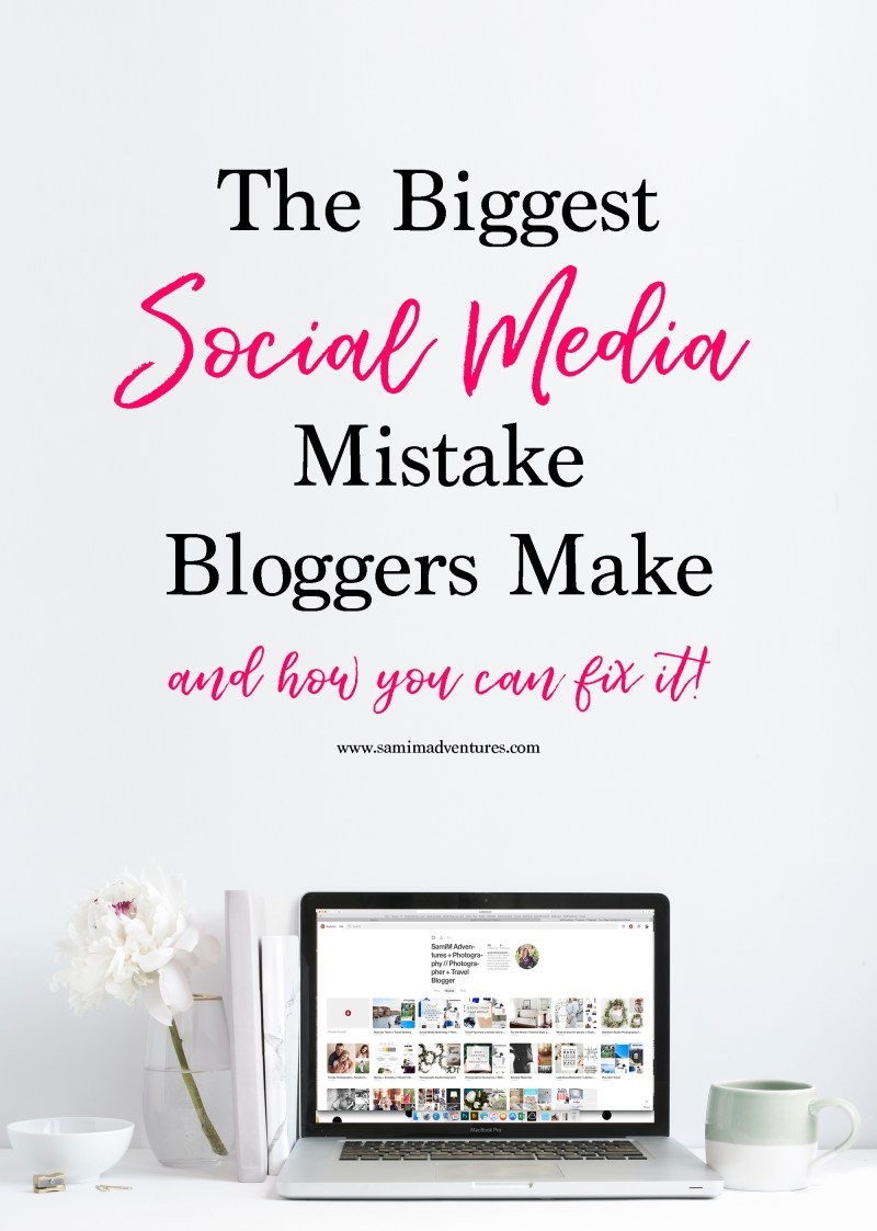 The Biggest Social Media Mistake Bloggers Make