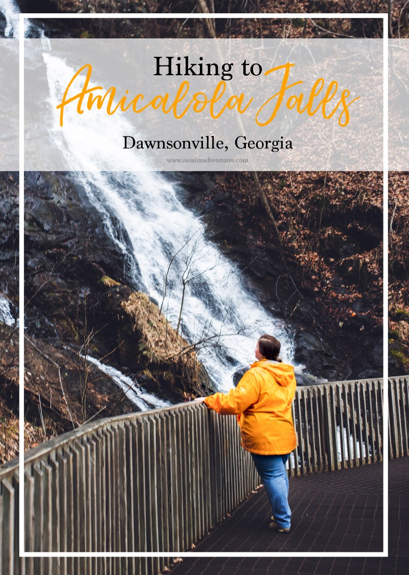 Interested in waterfalls in Georgia, hiking in Georgia, or even state parks inGeorgia? A visit to the tallest waterfall in Georgia at Amicalola Falls State Park in Dawsonville, Georgia is a must! Hike to the waterfall in a state park! #GeorgiaStatePark #DawsonvilleGeorgia #AmicalolaFalls