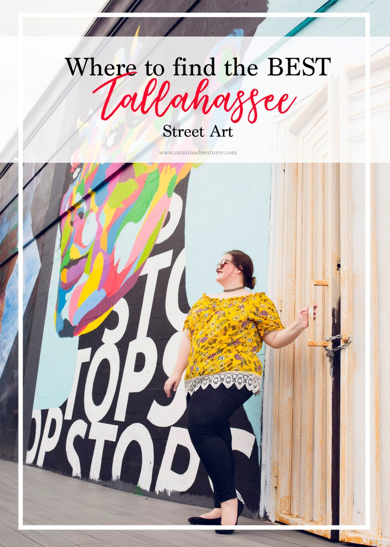 Have you ever been to Tallahassee, Florida and wanted to find things to do in Tallahassee with kids? How about trekking around and looking at the BEST Tallahassee street art? Check out this Tallahassee travel guide! Murals and murals galore! #Tallahassee #TallahasseeFlorida #TallahasseeTravel