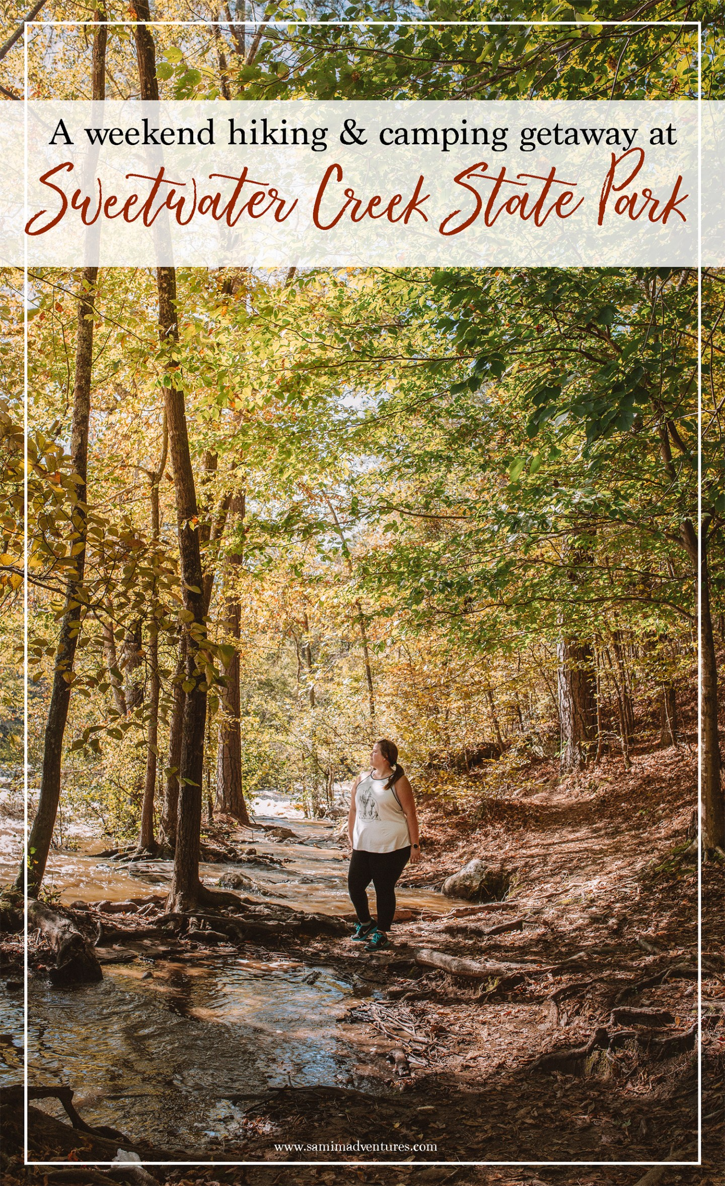 If you are a hiking enthusiast or you get spurts of energy to do spontaneous physical activity, consider a weekend getaway at Sweetwater Creek State Park