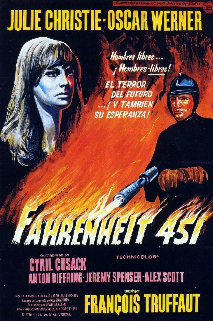 Fahrenheit 451 Bande Annonce Vf : fahrenheit, bande, annonce, Review:, Fahrenheit, (1966)