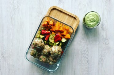 MEAL PREP: Turkey Meatballs