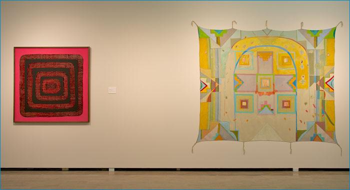 Installation view, REWILDING MODERNITY courtesy of the Mendel Art Gallery, Saskatoon, SK, 2014.