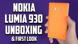 Nokia Lumia 930 Unboxing First Look