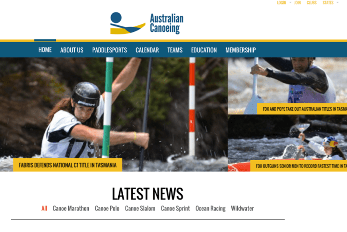 Australian Canoeing