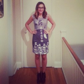 Fan Expo Outfit Day 4: Her Universe Star Wars Stormtrooper Dress!