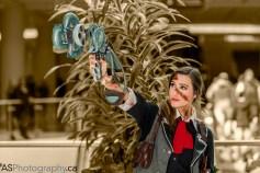Sam Maggs Rule 63 Femme Booker Cosplay Bioshock Infinite with Skyhook