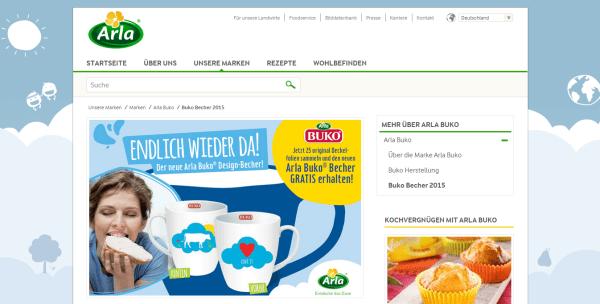 Buko Becher 2015   Arla Foods