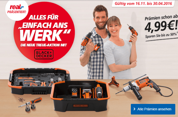 Treue Aktion Black Decker Real