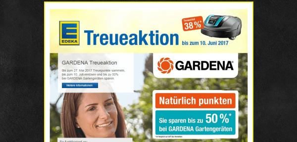Treueaktion GARDENA EDEKA