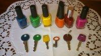 Schlüssel-Bunt