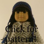 Doll's Earflap Hat Pattern