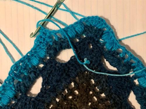 color change solstand shawl
