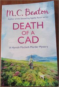death of a cad by mc beaton front cover