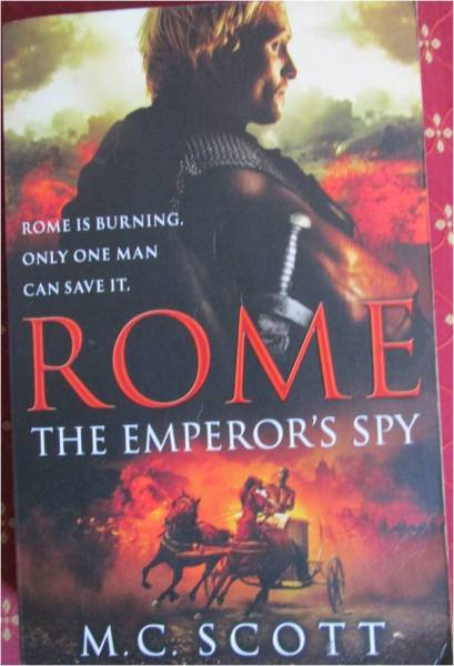rome the emperor spy front cover