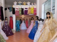 A Dress Shop in Tabarka  These Elaborate Dresses are Worn ...