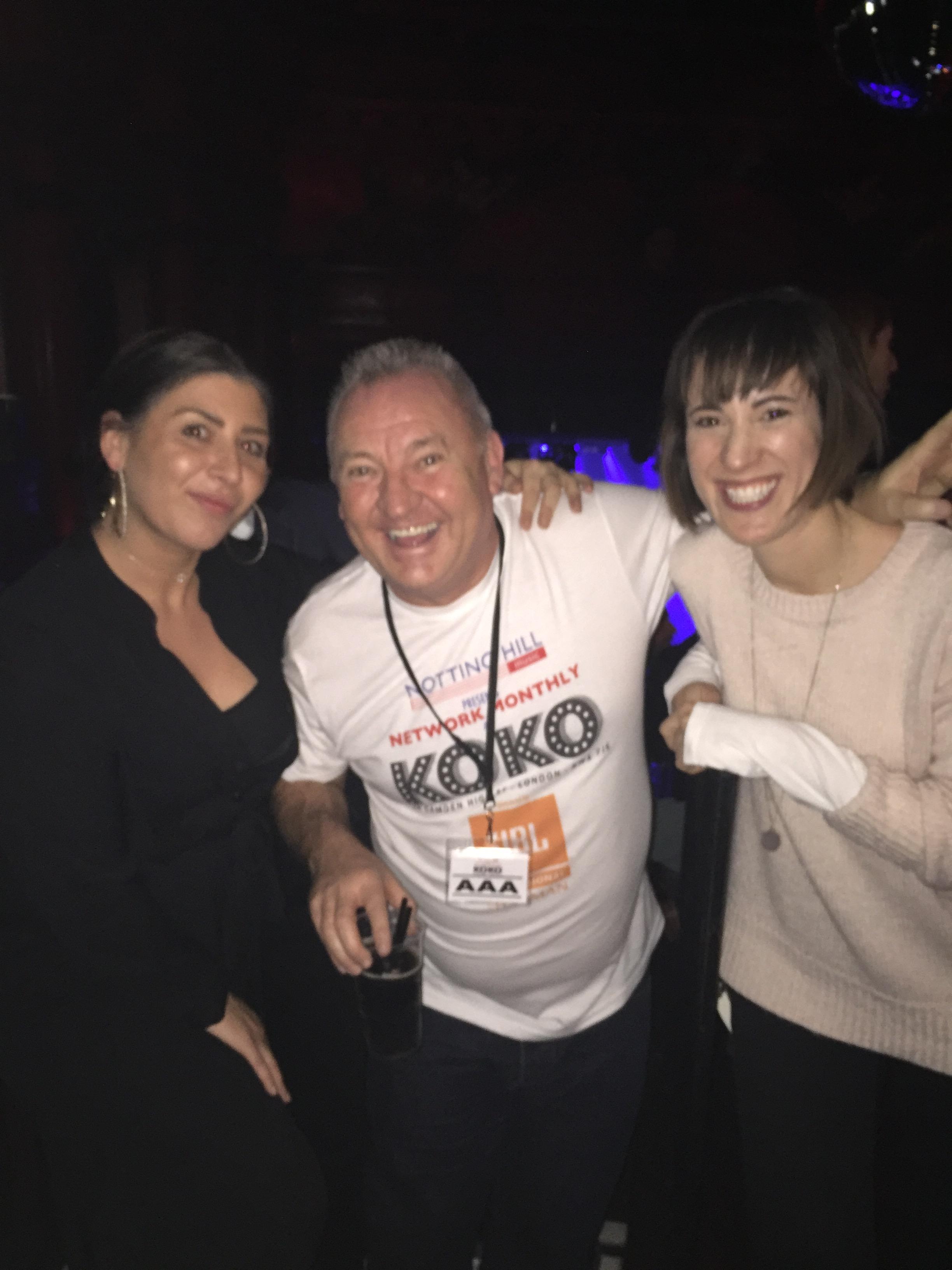 KOKO networking event with John Saunders & Francesca