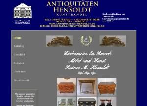Antiquitäten Hensoldt